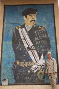 Command Sergeant Major Duane Fredrickson, Iraq