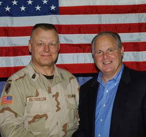 Duane Fredrickson and Rush Limbaugh